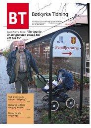 Länk till Botkyrka Tidning 3/2007 i pdf-format - Socialdemokraterna