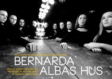 Bernarda Albas hus - Haugesund Teater