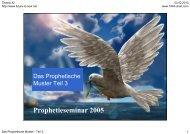 Prophetieseminar 2005