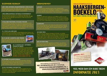 boekelo - Museum Buurtspoorweg