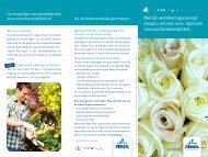 de kleinhandel in bloemen en planten - Fidea