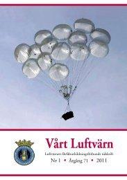 Vårt luftvärn nr 1/2011 - Luftvärnsförbundet