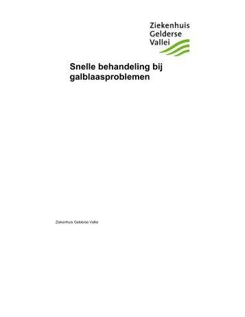 Snelle behandeling bij galblaasproblemen.pdf - Ziekenhuis ...