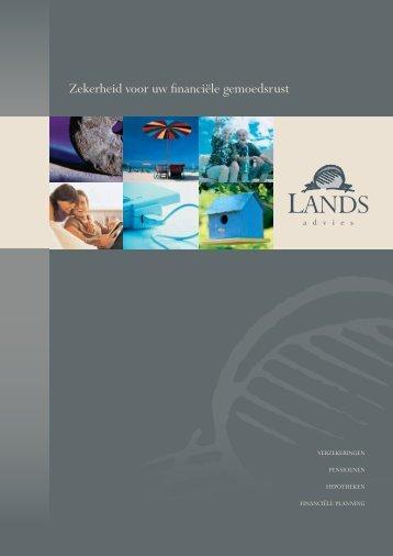 Brochure Formulieren - Lands Advies