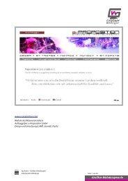 Ilya Krylov - Grafiker & Webdesigner - Arbeitsproben Webdesign