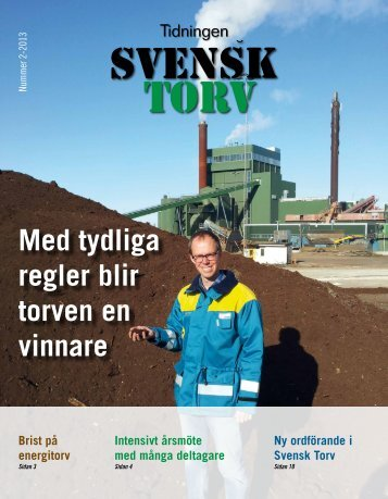 Ladda ner nr 2/2013 - Branschföreningen Svensk Torv