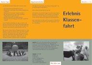 Download Info-Flyer - Erlebnis Klassenfahrt