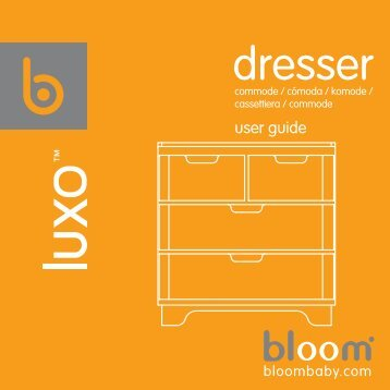 luxo dresser guide - Products for children