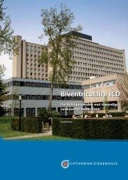Biventriculaire ICD, hartfalenpacemaker met inwendige cardioverter ...