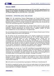 Besluit van de Vlaamse Regering van - Vlaamse Maatschappij voor ...