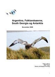 Argentina, Falklandsøerne, South Georgia og Antarktis - Scanbird