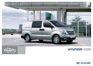 De nieuwe Hyundai H300 - Hans Jongerius