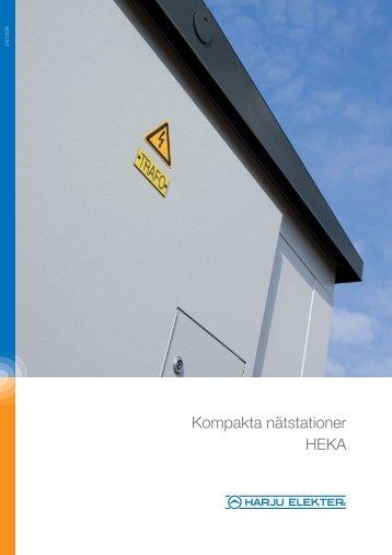 Kompakta nätstationer HEKA - Harju Elekter