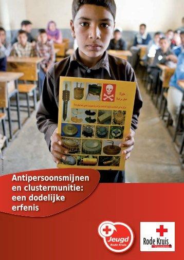 Clustermunitie en anti-persoonsmijnen - Jeugd Rode Kruis