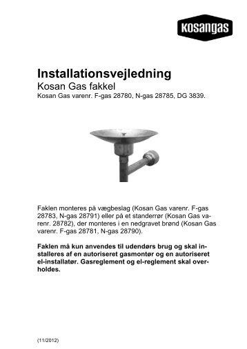 Hent produktblad - Kosan Gas