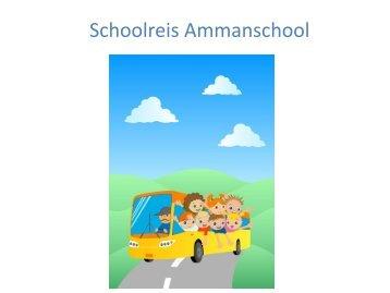 Schoolreis Ammanschool