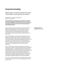 Employer branding - Corporate Relations