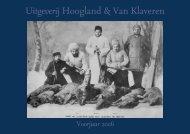 Fondslijst voorjaar 2006 - Hoogland & Van Klaveren
