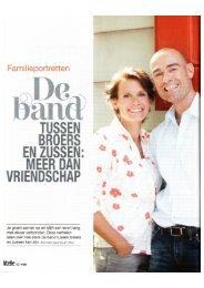 Broers en zussen over de bijzondere familieband - Laura van der ...