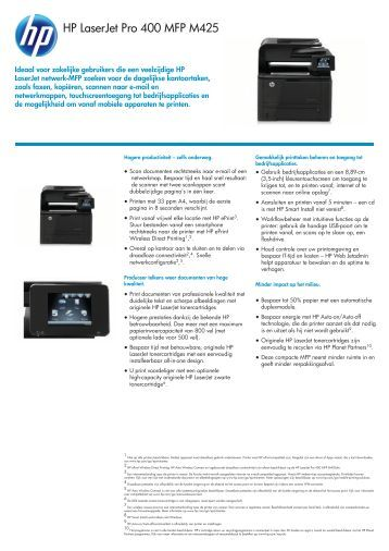 hp laserjet pro 400 pdf
