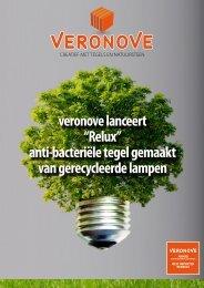 veronove lanceert ''Relux'' anti-bacteriële tegel gemaakt van ...