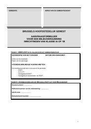 Aanvraagformulier voor een milieuvergunning van ... - Molenbeek