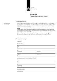 Aanvraag Vergunning douane-entrepot