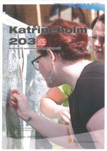 Underlag. för samhällspla ~~ .3 - Katrineholms kommun