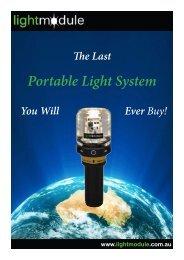 Portable Light System - Light module