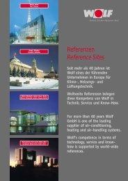 Referenzen Reference Sites - wolf