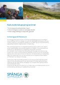 Poängplaner Naturvetenskap och Ekonomi - Spånga gymnasium - Page 5