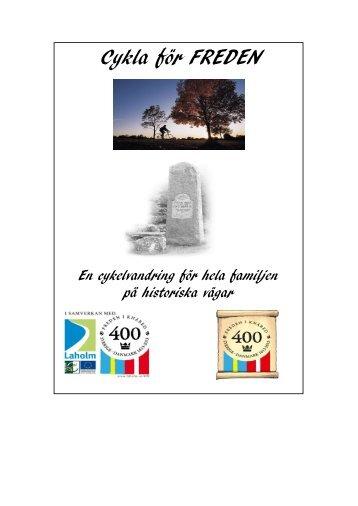 Cykla för freden (1,79 MB) - Laholms kommun