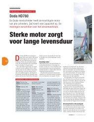 Sterke motor zorgt voor lange levensduur - boerentaal.nl