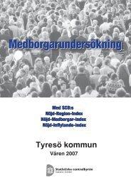 Medborgarundersökning - Tyresö kommun