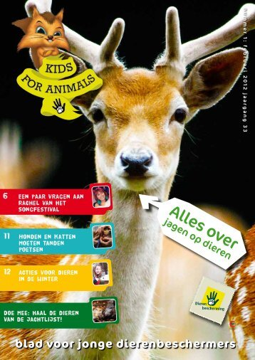 Clubblad 1 - Kids For Animals