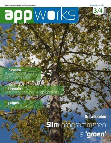 Slim programmeren is 'groen' - AppWorks