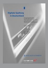 Digitale Spaltung - Booz Allen Hamilton