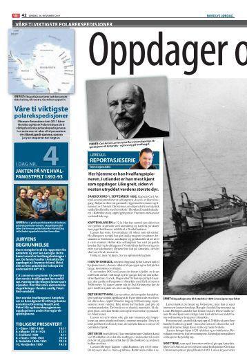 Nr. 04 Jakten på nye hvalfangstfelt 1892–1893 - Nansen-Amundsen ...