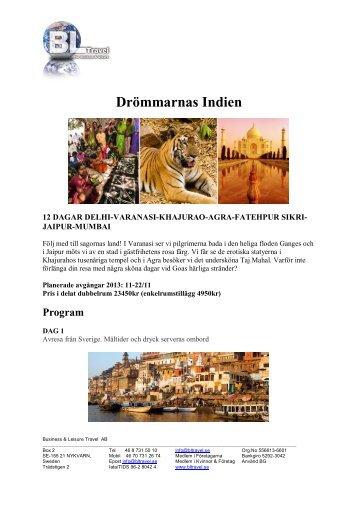 Drömmarnas Indien - BL Travel