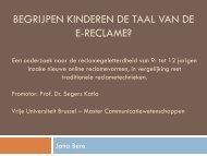 presentatie Jana Bens op prijsuitreiking (pdf) - Vlaamse Regulator ...