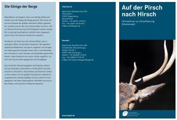Schaufütterung Schattenwald Anfahrt - Bayerische Staatsforsten