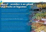 Le Programme - Centre Technique Interprofessionnel des Fruits et ...