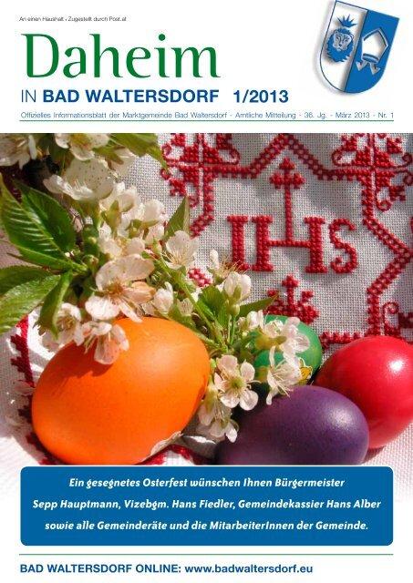 Bekanntschaften in Bad Waltersdorf - Partnersuche