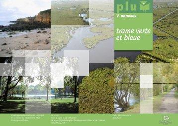 Document relatif à la trame verte et bleue - Saint-Nazaire
