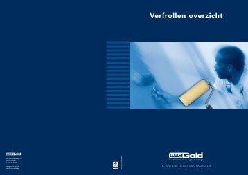 Brochure verfrollen - ProGold