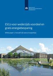 ESCo voor wederzijds voordeel en gratis energiebesparing - Pianoo