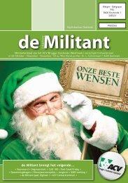 de Militant - ACV Brugge-Oostende-Westhoek