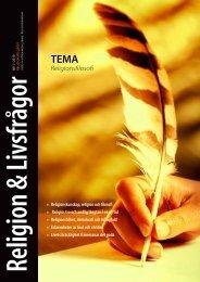Religionsfilosofi - Föreningen Lärare i Religionskunskap