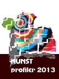 KUNST profiler 2013 - Galleri - udstilling
