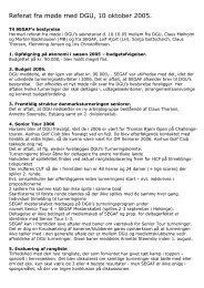 Referat fra møde med DGU, 10 oktober 2005. - SEGAF